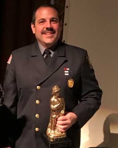 Wadih Atiyeh Named Fire Fighter of the Year