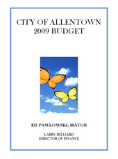 2009 Budget Cover