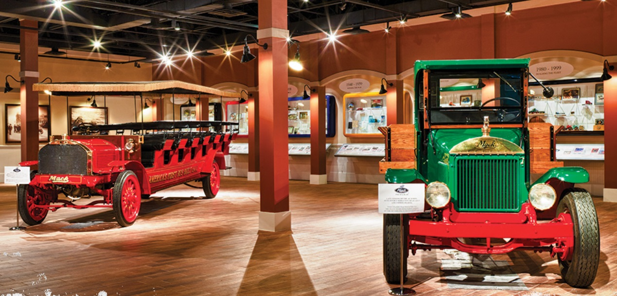 Click here to go to the Mack Trucks Historical Museum website.