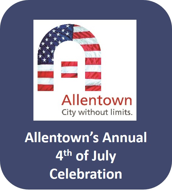 Click to go to the Allentown Annual 4th of July Celebration page.